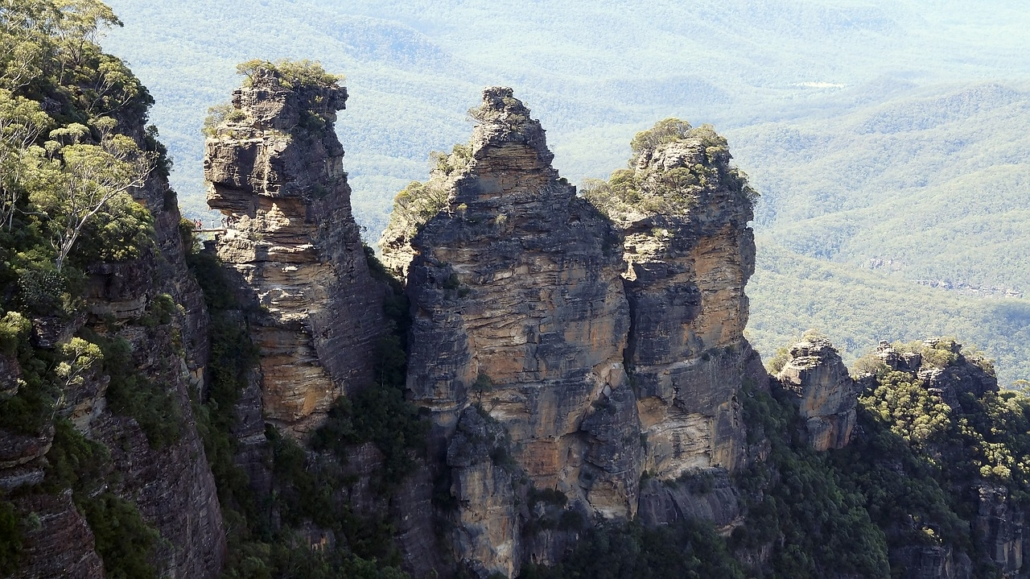 Blue Mountains Three Sisters Sydney Australien