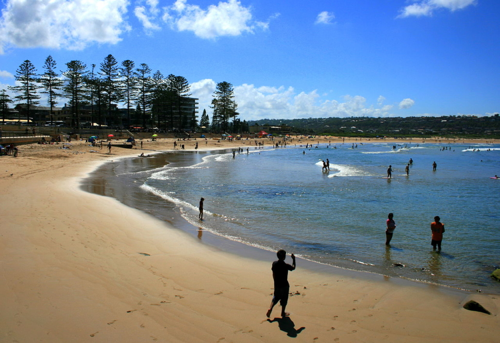 Vororte Sydney Australien Dee Why Beach