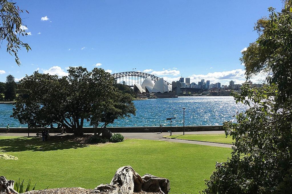 Wo sieht man das Feuerwerk an Silvester in Sydney am besten