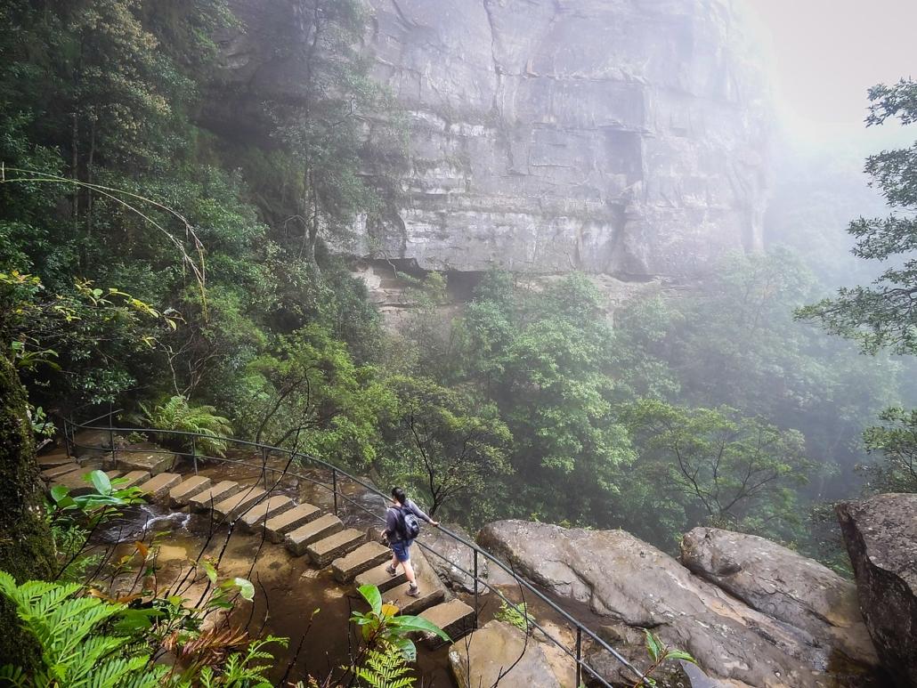 Beliebte Sport-Aktivitäten in den Blue Mountains