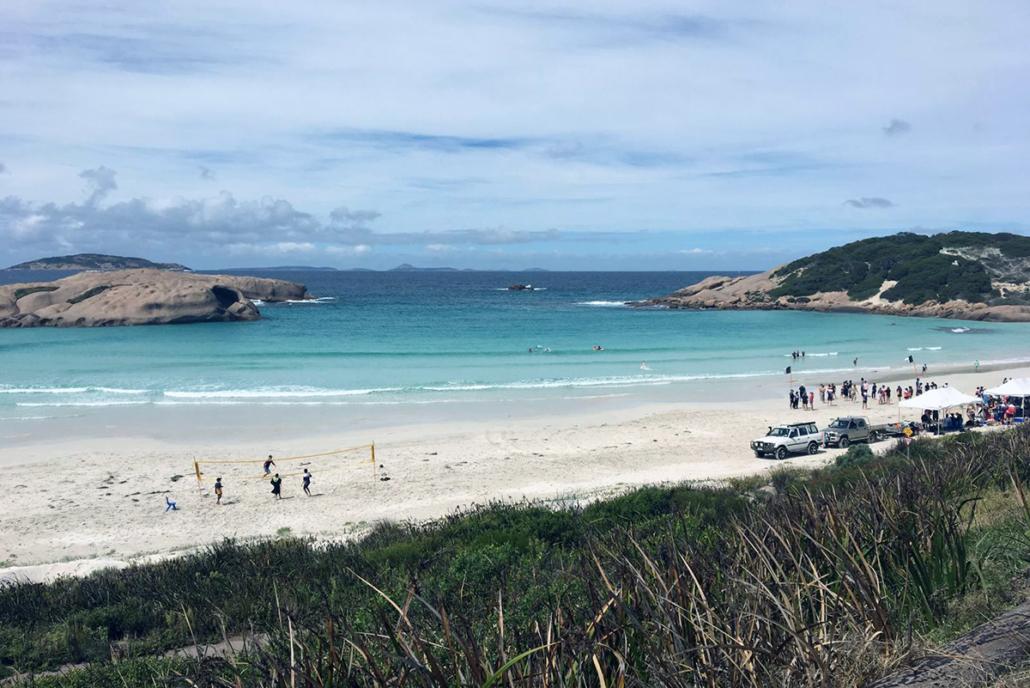 Outdoor Aktivitäten am Strand in Esperance Australien