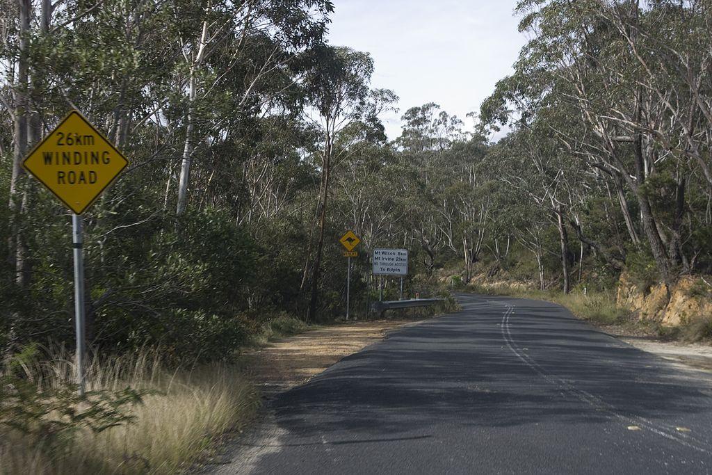 Roadtrip zu den Blue Mountains über den Grand Circular Tourist Drive