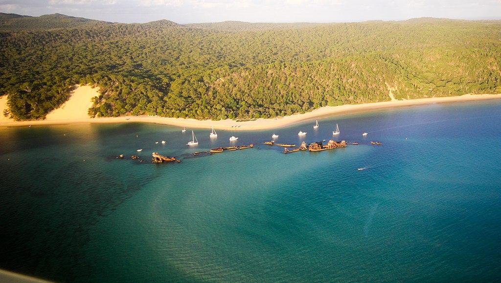 Idyllische Inseln - Moreton Island und North Stradboke Island Tangalooma_Wrecks