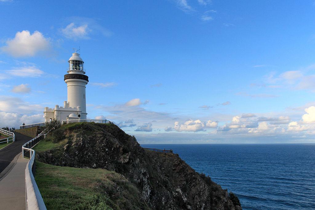Leuchtturm Cape Byron Lighthouse - ein Muss für alle Verliebte