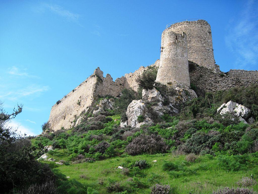 Mittelalterliche Burg Ruine Kantara